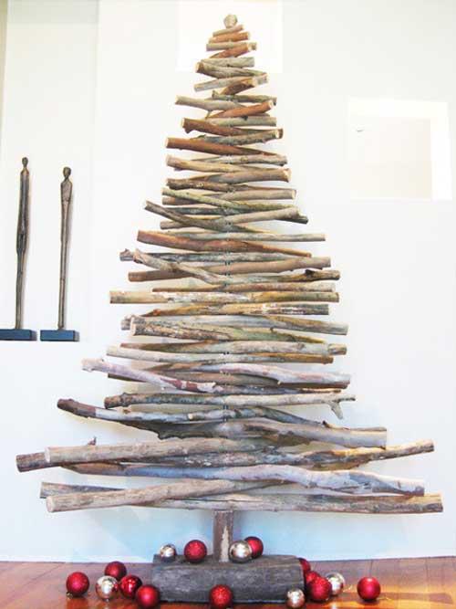 christmas tree design - Stick Christmas Tree
