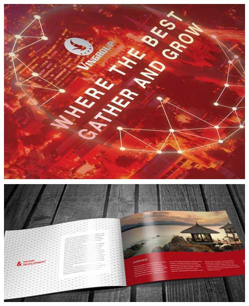 Brochure Layout Examples  Inspiring Designs To Draw Inspiration