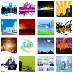 55 Free Very Useful City Background Designs to Download
