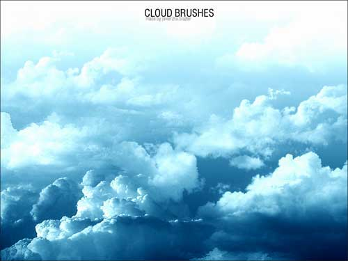 Cloud Backgrounds: 50 High-Quaity Sky Photoshop Brushes To
