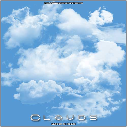 Brushes for photoshop cs6 clouds