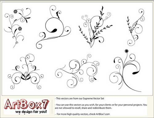 swirl clip art