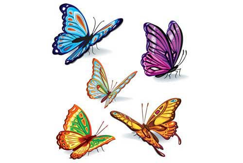 Butterfly Clip Art: 56 Vector Graphics to Download