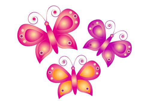 animated butterfly clipart free - photo #36