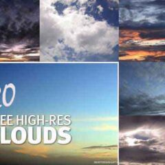 Clouds Backgrounds: 20 Dramatic Sky Textures