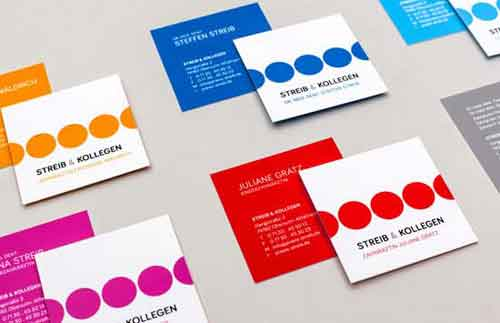 Square Business Cards: 55 Modern Mini Card Design Examples
