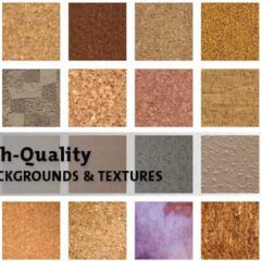 84 Free Cork Texture Backgrounds for Your Designs
