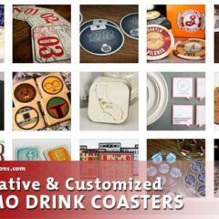 35 Cool Customized Coasters for Your Inspiration