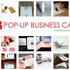 38 Unique and Memorable Pop-up Busines Cards