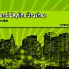 38 Building Photoshop Brushes for Urban Designs