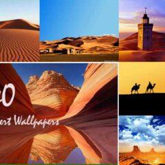 40 High-Definition Desert Wallpapers for Desktops