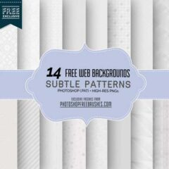 500+ Free Subtle Patterns for Minimalist Designs