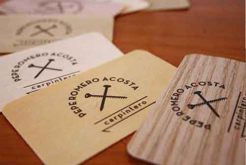 Elegant and traditional business cards google search business wooden business card design examples to get inspiration from carpenter business card template colourmoves