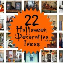 12 Eerie yet Festive Halloween Decorating Ideas