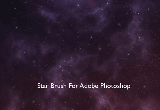 Star Photoshop Brushes for Creating Sparkling Backgrounds