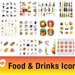 30 Sets of Free Food Icons for Websites and Apps