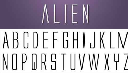 Sci-fi Fonts You Can Use for Free in Designing Movie Posters