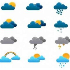 25 Sets of Free Weather Icons for Web and Mobile Apps