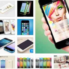50+ Free iPhone MockUp PSD Templates for Showcasing Mobile Apps