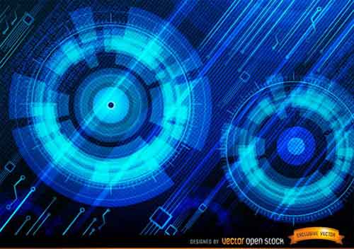 35 free tech backgrounds - photo #8