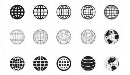 Vector Globe Graphics: 30 Free Sets to Download