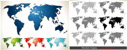 Vector world map files for free download vector world map download gumiabroncs Choice Image