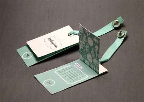 Hang tag design 25 luxurious examples worth looking at for Create custom clothing tags