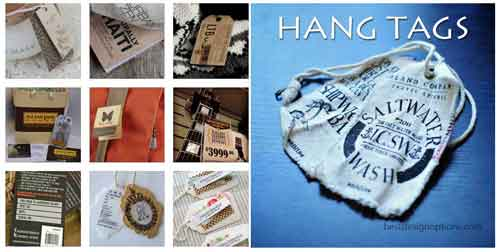 Hang Tag Design: 25 Luxurious Examples Worth Looking At