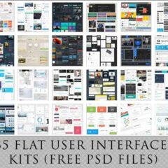 35 Free Flat UI Kits For Your Next Web Design Projects