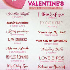 16 Free Romantic Fonts for Valentine Design Projects