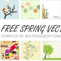 30 Free Plants Clip Art Graphics for Spring and Summer Designs