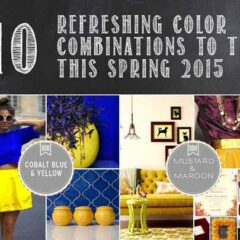 Spring Color Palettes: 10 Refereshing Color Combinations