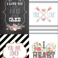 80+ Free Valentine Printables for Your DIY Projects