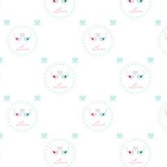 7 Free Lovely Valentines Background Patterns