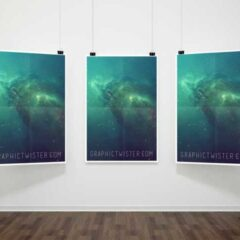 Poster Mockup Templates for Showcasing Designs