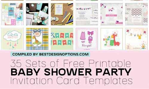 Shower Invitation  Printable Baby Shower Invite