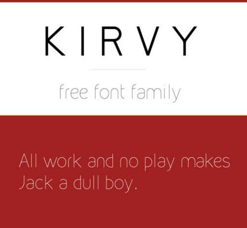 thin fonts