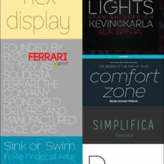 28 Skinny Thin Fonts Great for Minimalist Designs