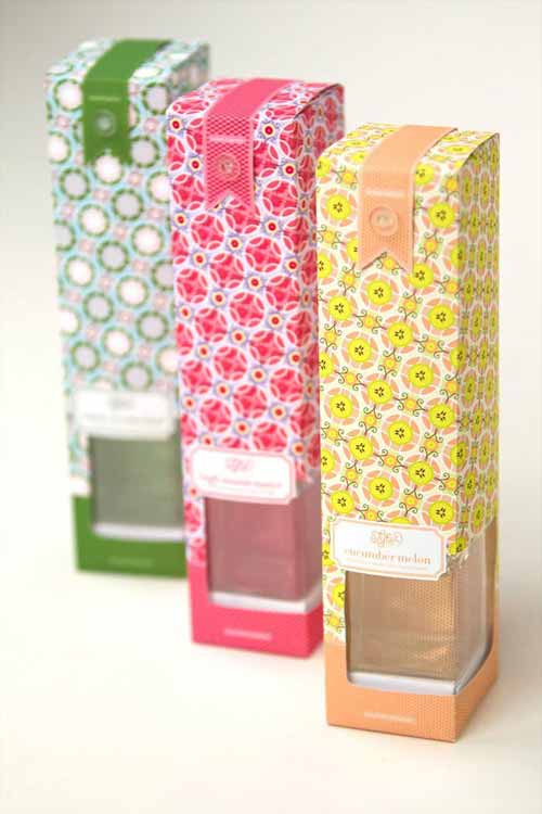product packaging design trend use of seamless patterns