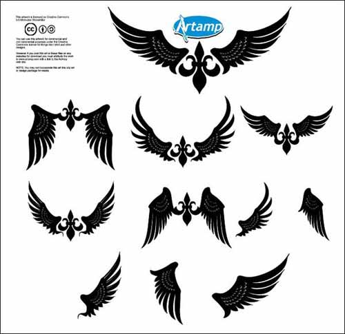 Tattoo Designs Vector Free Download: Tribal Tattoo Design: 500+ Free Vectors To Download