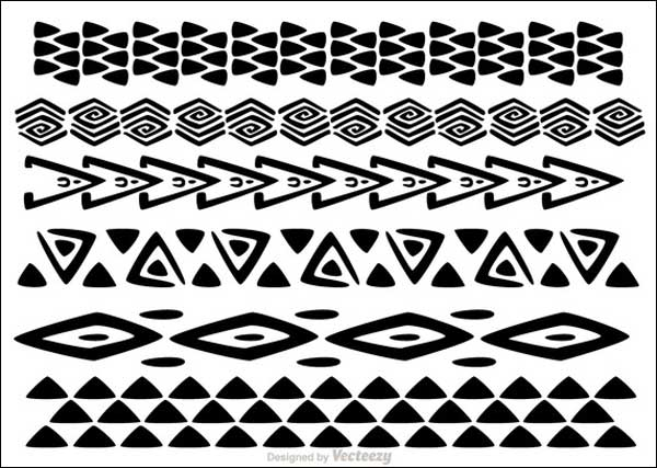 tribal tattoo design 500 free vectors to download. Black Bedroom Furniture Sets. Home Design Ideas