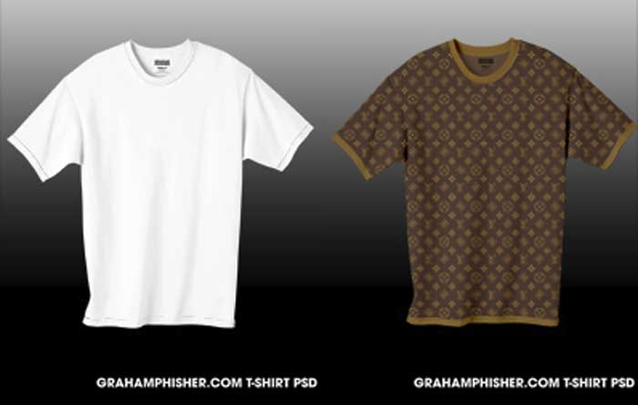 another easy to customize shirt clothes mockup in photoshop psd file