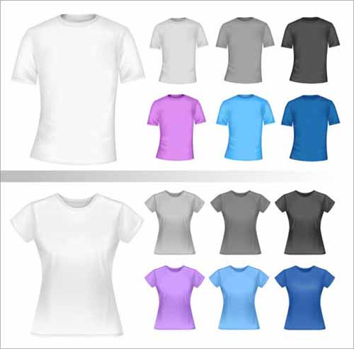 T shirt design templates 38 sets free editable vectors for T shirt design vector free