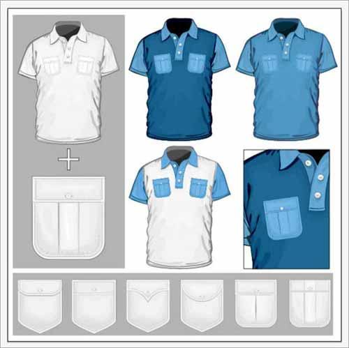 Men S V Neck Pocket T Shirts