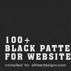 100+ Black Patterns Great as Web Backgrounds