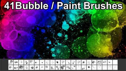 bubble photoshop brushes