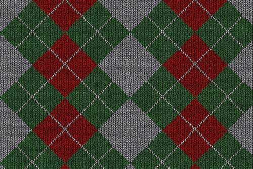 Fabric Texture Backgrounds: 45 Free Knitted Patterns