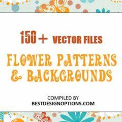 150+ Repeating Floral Patterns in Vector Format