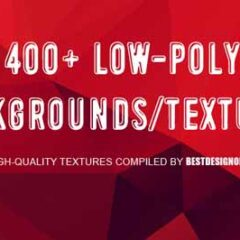 400+ Free Low Poly Geometric Backgrounds
