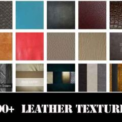 500+ Free Leather Textures and Seamless Patterns